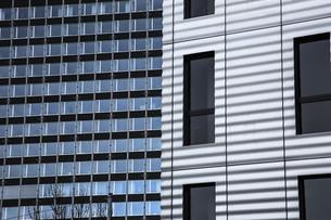 Switzerland, Basel, University, glass facadeの写真素材 [FYI04349286]