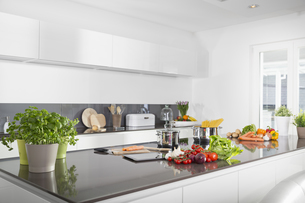 Modern kitchenの写真素材 [FYI04351880]