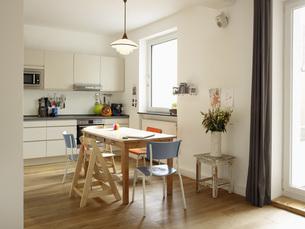 Interior of domestic kitchenの写真素材 [FYI04353660]
