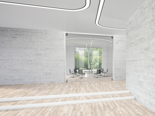 Modern conference room, 3D Renderingのイラスト素材 [FYI04357926]