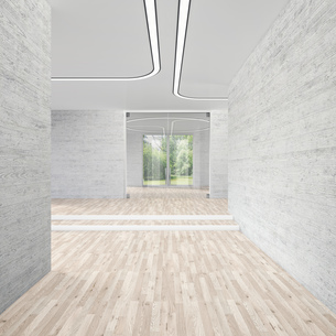 Modern conference room, 3D Renderingのイラスト素材 [FYI04357933]