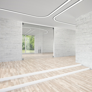 Modern conference room, 3D Renderingのイラスト素材 [FYI04357935]