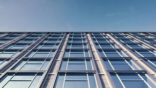 Modern facade, 3D Renderingのイラスト素材 [FYI04358199]