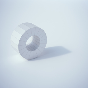 Low poly ring, 3D Renderingのイラスト素材 [FYI04358324]
