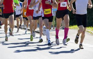Half Marathon, runnerの写真素材 [FYI04359625]
