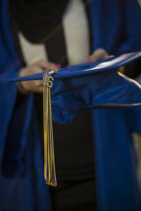 Close-up Of Graduation Capの写真素材 [FYI04379868]