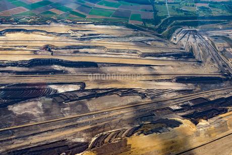 Aerial View Of Garzweiler Surface Mineの写真素材 [FYI04398499]