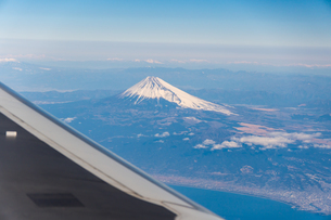 Aerial View Of Mountain Rangeの写真素材 [FYI04406317]