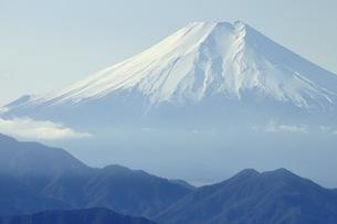 百蔵山より富士山の写真素材 [FYI04426027]