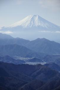 百蔵山より富士山の写真素材 [FYI04426061]