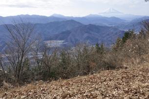 百蔵山よりの展望の写真素材 [FYI04426218]