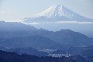 百蔵山より富士山の写真素材 [FYI04426255]