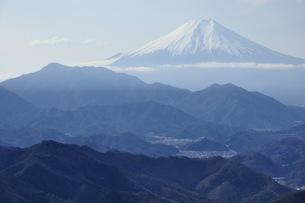 百蔵山より富士山の写真素材 [FYI04426325]