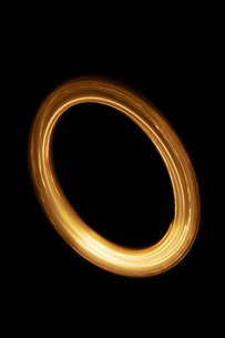円の光イメージの写真素材 [FYI04434707]