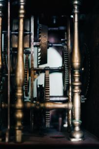 Close-up Of Old Machine Partの写真素材 [FYI04438341]