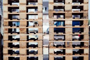 Stack Of Wooden Blocksの写真素材 [FYI04438526]