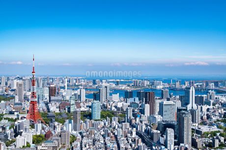 Aerial View Of Cityscapeの写真素材 [FYI04446943]