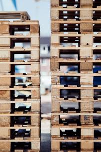 Stack Of Wooden Blocksの写真素材 [FYI04449212]