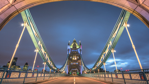 View Of The Bridge Towerの写真素材 [FYI04458970]