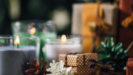 Close-up Of Christmas Presentsの写真素材 [FYI04473949]