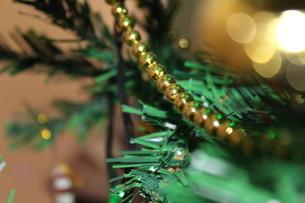 Close-up Of Christmas Treeの写真素材 [FYI04476823]