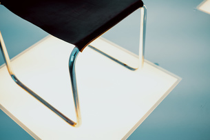 Close-up Of Chair On Floorの写真素材 [FYI04477720]