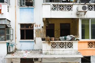 Building facadeの写真素材 [FYI04480337]
