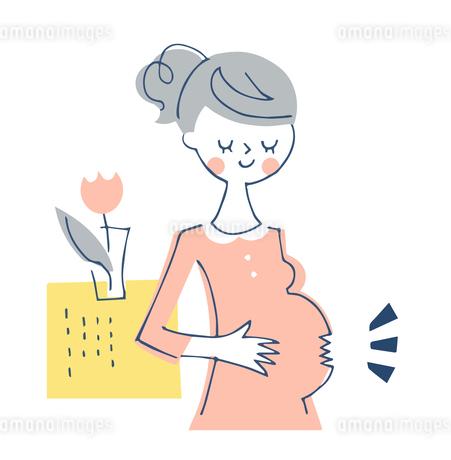 妊婦のイラスト素材 [FYI04482299]