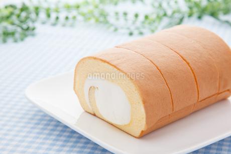 ロールケーキの写真素材 [FYI04482691]