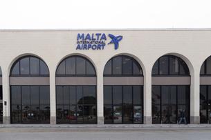 マルタ国際空港(ルア空港)の写真素材 [FYI04482759]