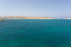 地中海とミストラ湾の写真素材 [FYI04482797]