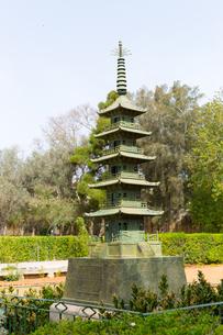 マルタ共和国、銅の五重塔の写真素材 [FYI04482850]