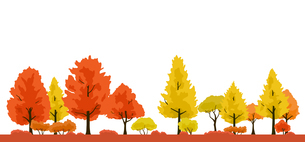 紅葉の木 風景イラストのイラスト素材 [FYI04483259]