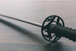 日本刀の接写の写真素材 [FYI04483742]