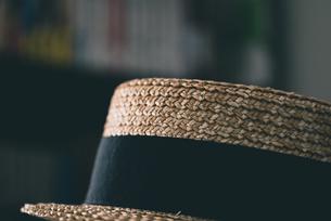 カンカン帽の写真素材 [FYI04483759]