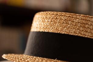 カンカン帽の写真素材 [FYI04483760]