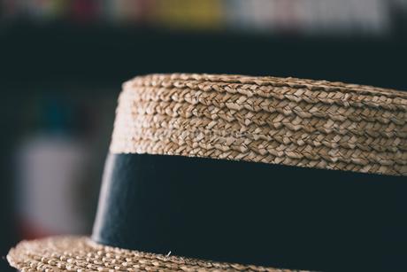 カンカン帽の写真素材 [FYI04483761]