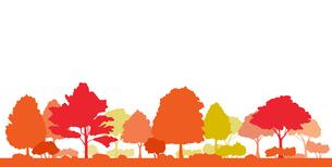 紅葉の風景イラストのイラスト素材 [FYI04483795]