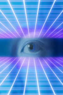 男性の目のアップの写真素材 [FYI04484340]