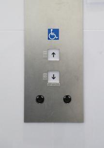 エレベータのボタンの写真素材 [FYI04484595]
