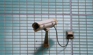 防犯カメラの写真素材 [FYI04484599]