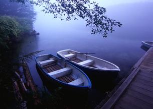 上高地 静寂の大正池の写真素材の写真素材 [FYI04484617]