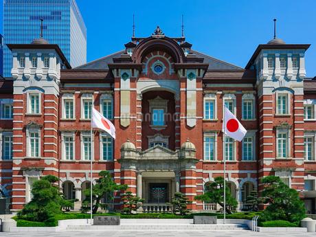 東京駅丸の内駅舎の写真素材 [FYI04486384]