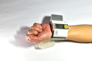 血圧測定の写真素材 [FYI04486581]