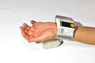 血圧測定の写真素材 [FYI04486582]