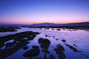 寿都湾の朝の写真素材 [FYI04486675]