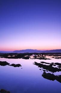 寿都湾の朝の写真素材 [FYI04486682]