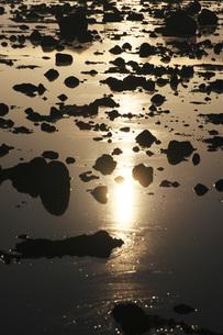 寿都湾の朝の写真素材 [FYI04486688]