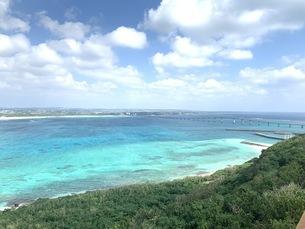 宮古島の海の写真素材 [FYI04486783]