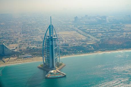 ドバイ(アラブ首長国連邦)の都市風景の写真素材 [FYI04486932]